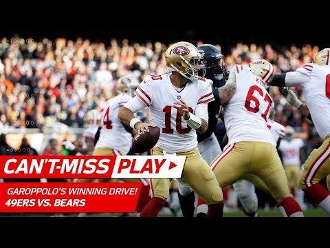 Video: Jimmy Garoppolo Leads Game-Winning 92-Yd Drive! | Can't-Miss Play | NFL Wk 13 Highlights