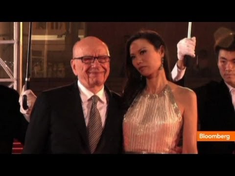 rupert murodch - June 14 (Bloomberg) -- Bloomberg Billionaires' Rob LaFranco examines the announced divorce of billionaire News Corp. chief executive Rupert Murdoch and just ...