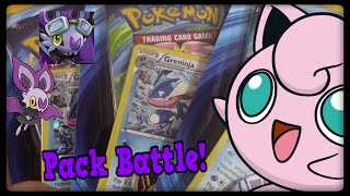 3 Greninja Checklane Blisters! Pack Battle VS TimeWoven! by Master Jigglypuff and Friends