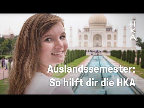 Studieren im Ausland? Nina und Vincent erzählen, wie es läuft!
