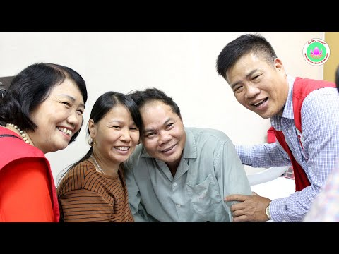 Chi hội Tình Người thăm hỏi bệnh nhân nghèo Bệnh viện E và K2 ngày 25-11-2018