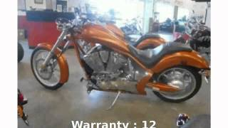 8. 2010 Honda Fury Base - Features, Info
