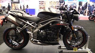 9. 2018 Triumph Speed Triple 1050 RS - Walkaround - 2018 Montreal Motorcycle Show