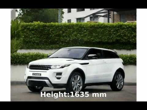 2010 Land Rover Range Rover Evoque Si4 Features