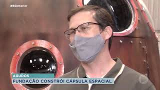 Bauru terá replica de cápsula que trouxe Marcos Pontes à terra