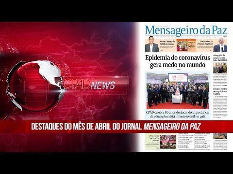 Boletim Semanal de Notícias - CPAD News 167