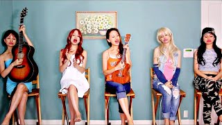 5 Identical Sisters Singing Oxygen  Original Song By <b>Chloe Temtchine</b> & The Oxygen Sisters