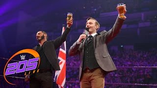 Nonton Gentleman Jack Gallagher toasts Austin Aries: WWE 205 Live, May 9, 2017 Film Subtitle Indonesia Streaming Movie Download