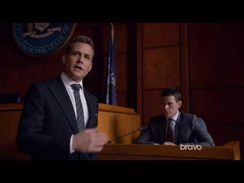 Suits Harvey Destroys Trevor during Mike's Trial