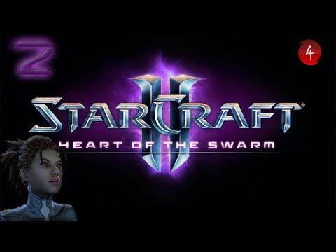 StarCraft 2 - Heart of the Swarm. Эксперт Часть 2. Снова в седле