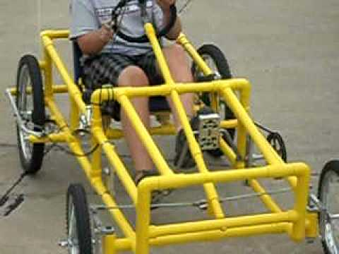 how to make a go kart out of a bike