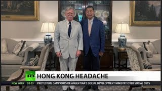 What, and who, lies behind the Hong Kong riots ?