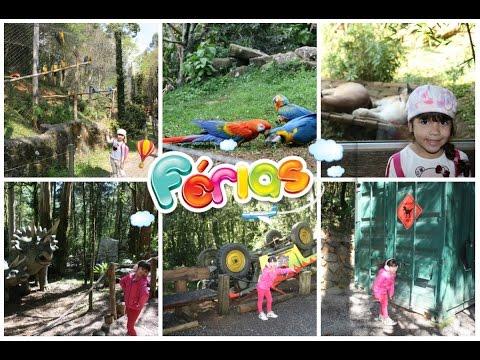 Férias em Gramado - Parte 2 - Vale dos Dinossauros e Zoo
