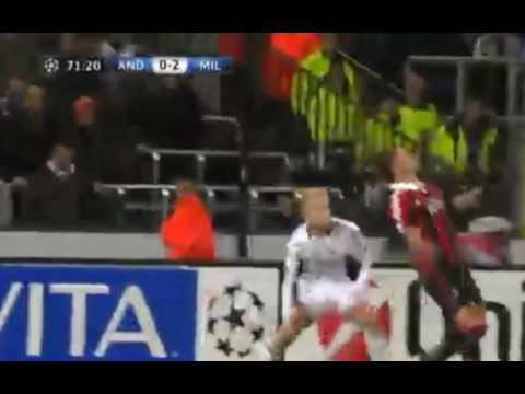 MEXES ROVESCIATA GOL INCREDIBILE HD \\ ANDERLECHT vs MILAN – 21/11/12