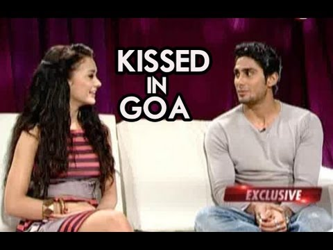 Prateik Babbar & Amy Jackson Talk About Their Kiss In Goa
