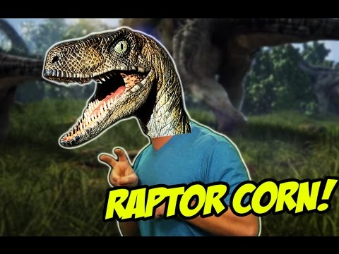 dinosaur - Regular Raptors are dangerous, but RAPTOR-CORN is the most dangerous dinosaur of all! Plus we got T-rex, spinosaurus, and pteranodan! Check out my Webcomic: ...