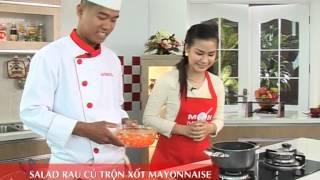 Món Ngon Mỗi Ngày - Salad rau củ trộn xốt mayonnaise