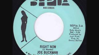 Joe Buckman - Right Now - NORTHERN SOUL
