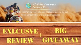 Video Converter, Video Coverter to mp3, Video editor, Video Converter full version free download all here for you.Best Video Coverter - HD Video Converter Factory Pro Exclusive Review and Massive GiveawayHD Video Comverter Factory Pro Download: http://www.videoconverterfactory.com/hd-video-converter/HD Video Converter Factory Pro Full Version Free Download Givaway Page: http://www.videoconverterfactory.com/giveaway/hdpro-technologygym.htmlHD Video Converter Factory Pro Wonderfox official Site: http://www.videoconverterfactory.com/Are you looking for a top notch Video Converter, Full version of Video Converter for free, Video Converter to mp3, Volume Booster, Ringtone maker, and many more? Here is an all in one tool for you exclusively from Wonderfox.Let HD Video Converter Factory Pro Power UP Your Videos And Save Space on Your Devices Convert HD video to 300+ formats and devices - Simple yet Faster, when helping you deal with higher definition sourceWhy Choose HD Video Converter Factory Pro? There are currently many HD video converters in this field, which claim to be the best HD videos converter. But if you got the idea of HD conversion for a long time, you must know WonderFox HD Video Converter Factory Pro is a program of the first batch supporting HD video conversion. We are continuing to update and comfort our users with mature technology.4K (UHD), 1080P (FHD), 720P (HD), 480P(SD) Conversion Full ControlHD Video to General Video:This HD conversion software supports the newest encoder H265(HEVC), VP9 and other h-video formats. It converts Multi-track HD video M2TS, MKV, AVCHD, HDTV BDAV and MPEG-TS, HD-camcorder video and more to 300+ video and audio codecs.SD Video to HD Video:HD Video Converter Factory Pro is equipped with advanced High-Definition (HD) video conversion technology. It works the best on converting videos from Standard-Definition (SD) to High-Definition (HD) like HD MP4, HD MKV, HD AVI, HD MTS, HD TRP, even 4k standard.Outstanding 5X Compression R