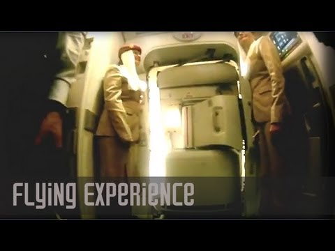 Emirates - http://www.youtube.com/seatgurus - Airbus A380 In-flight Economy Experience on Emirates Airlines - Tips on ultra long distance flights. (With Narration and A...