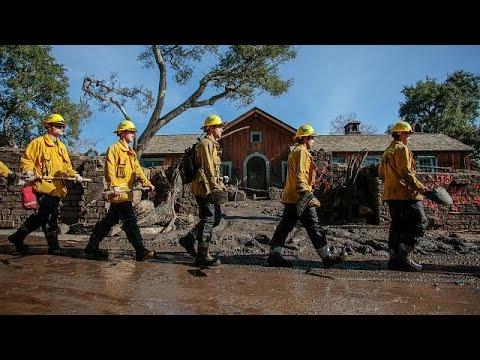 Καλιφόρνια: Στενεύουν τα περιθώρια εύρεσης επιζώντων