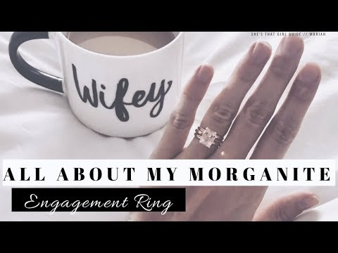 ALL ABOUT MY ENGAGEMENT RING - MORGANITE, WEDDING SERIES | Moriah Robinson