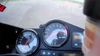 4. Honda 1998 CBR900RR FireBlade Private Track Acceleration