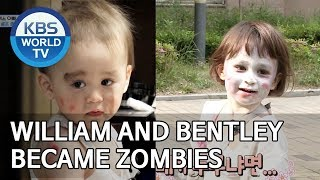 Video William and Bentley became zombies [The Return of Superman/2019.06.16] MP3, 3GP, MP4, WEBM, AVI, FLV Juni 2019