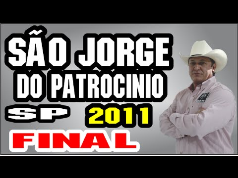 Almir Cambra São Jorge do Patrocinio PR Xtudo Final 2011( audio)