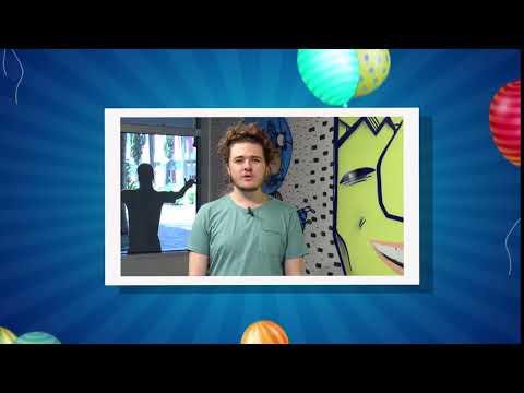 Ulbra TV 14 Anos  Mensagem de aniversário - Prédio 11