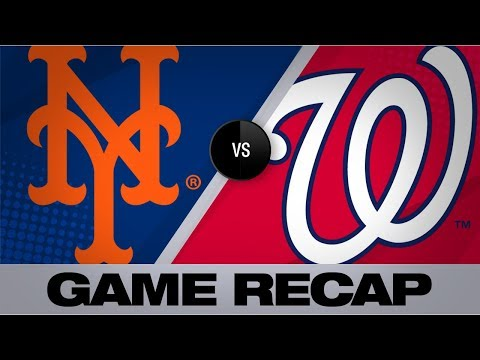 Video: Alonso's league-leading 45th HR powers Mets | Mets-Nationals Game Highlights 9/4/19