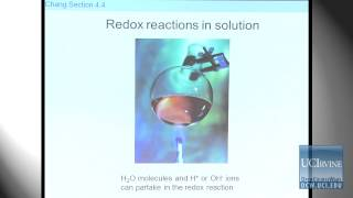 Preparation For General Chemistry 1P. Lecture 21. Balancing Redox Reactions.