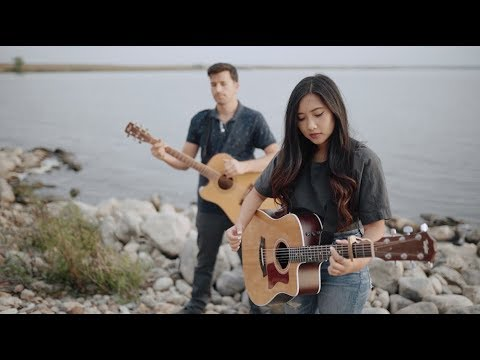 Hillsong United - Oceans (Acoustic Cover on the Lake by Andrea An)