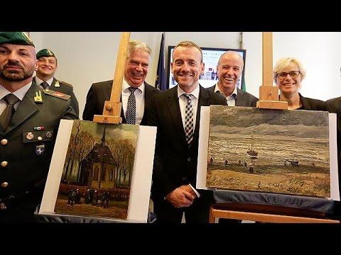 Δύο πίνακες του Βαν Γκογκ βρέθηκαν 14 χρόνια μετά την κλοπή!