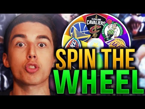 SPIN THE WHEEL OF NBA TEAMS! NBA 2K18 SQUAD BUILDER