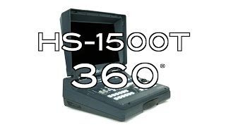 Datavideo HS-1500T HDSD 4-Channel HDBaseT Portable Video Studio 360˚ Video
