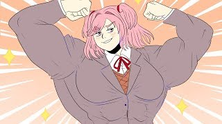 Natsuki Becomes Buffsuki?!   (DDLC MOD)