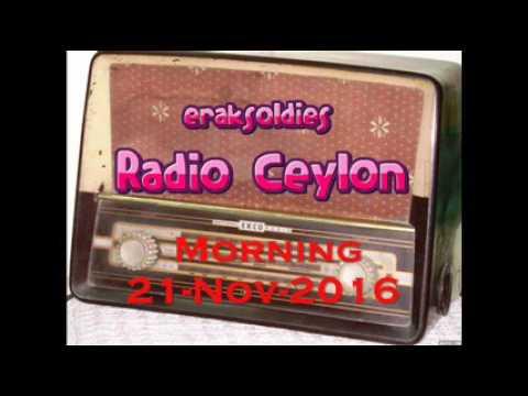 Video Radio Ceylon 21-11-2016~Monday Morning~02 Purani Filmon Ka Sangeet download in MP3, 3GP, MP4, WEBM, AVI, FLV January 2017