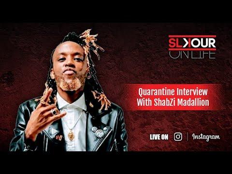 "ShabZi Madallion Talks About His Debut Album ""Nomvula"" & Studying For Craftsmanship"