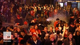 Police fire tear gas at students after Ohio State win | Mashable
