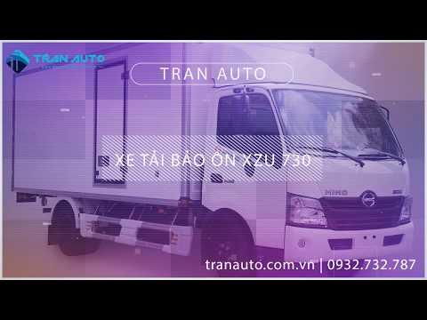 Xe tải bảo ôn Hino XZU 720 tại Tran Auto