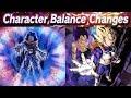 Os Personagens Que V o Ganhar Buffs Dragon Ball Legends