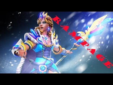 Rylai the Crystal Maiden:RAMPAGE
