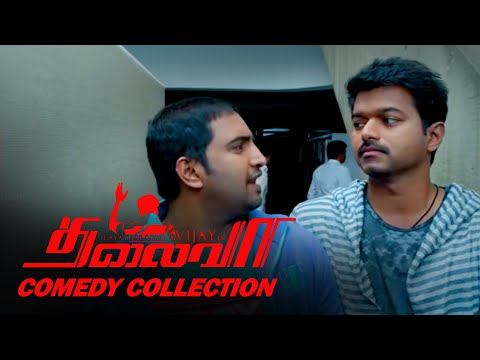THALAIVAA FULL COMEDY COLLECTIONS | SANTHANAM AND VIJAY BEST COMEDY
