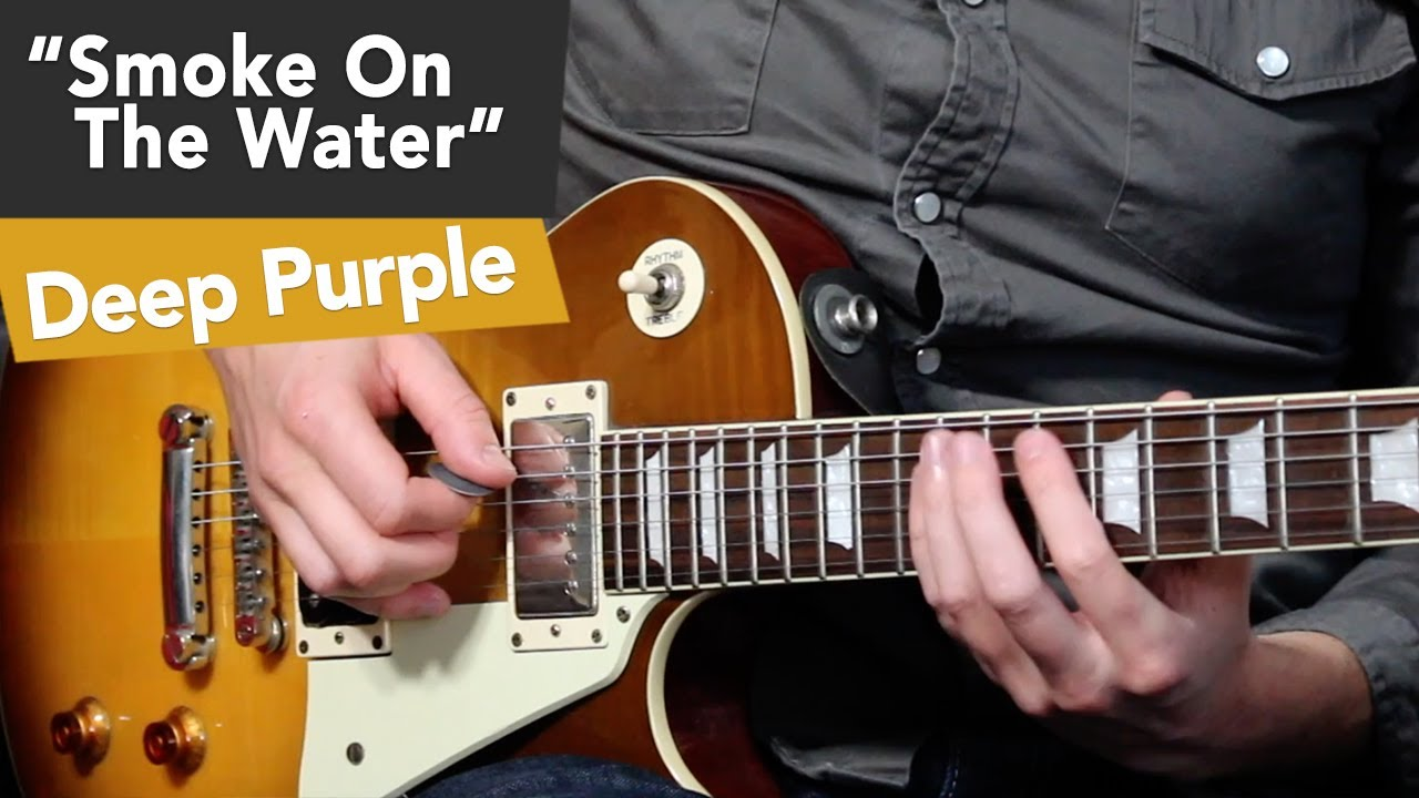 Smoke On The Water Guitar Tutorial – Easy Riffs Lesson #7