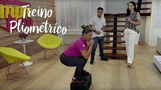 Treino pliométrico: saque as gordurinhas com exercício de salto