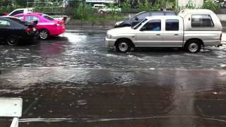 Bangkok Flood Oct 14 2011