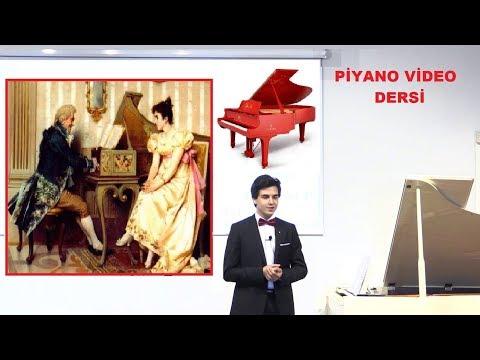 Piyano Dersleri 6; Müzik Bestecileri, Sonat, Konçerto, Konçertino, Etüd. Müzik Çeşit-Türleri Nedir?