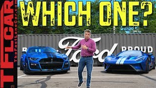 I Drive the Ford GT on Woodward to Compare it to the Mustang GT500 To See Which One I'd Buy! by The Fast Lane Car