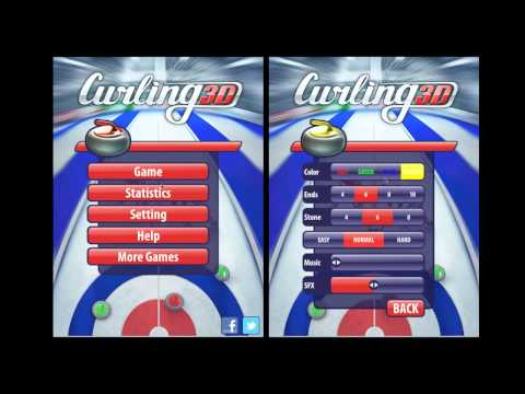 Video of Curling3D lite